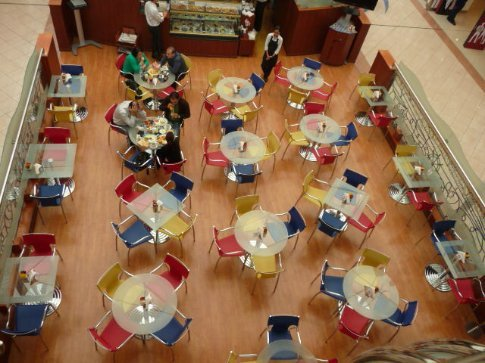 Marina Mall in Abu Dhabi.........Breakfast.........