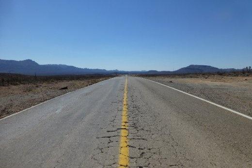 The long hot road ahead - riding through Baja