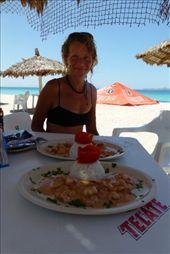 Pepe's food at Playa El Tecolote: by margitpirsch, Views[633]