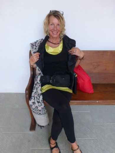 got myself a yellow dress in Oaxaca