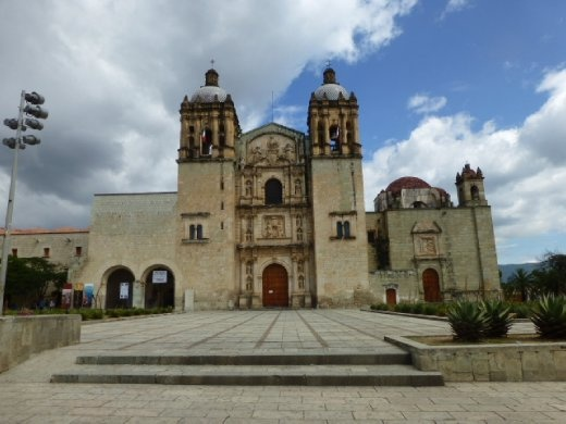Santo Domingo church in Oaxaca