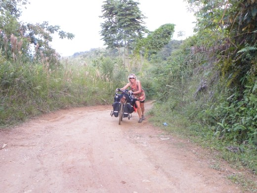 Lost on the dirt road in North Guatemala.