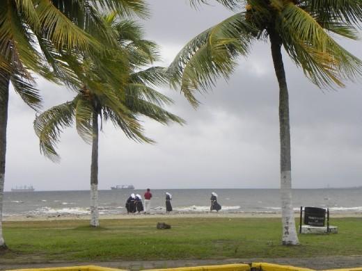 Storm in Puerto Cortes, Guatemala.