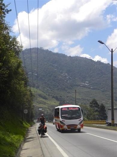 Leaving Medellin