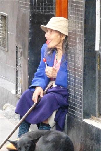 Bogota's special people.