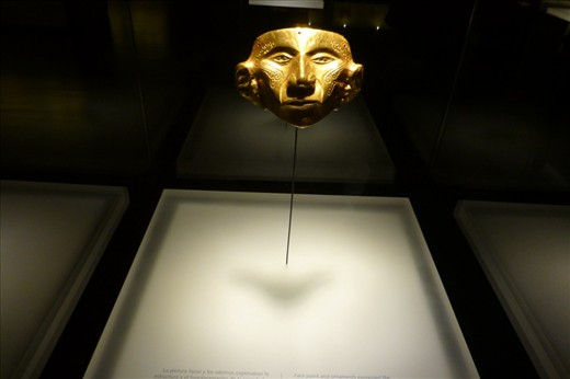 At the Museum de Oro.