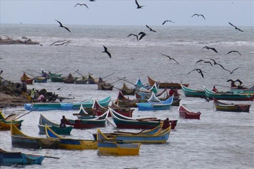 Rio Verde - down the coast in Ecuador