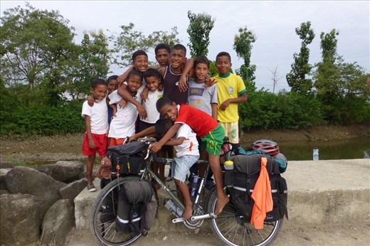 A whole bunch of boys....and a whole lot of fun in Salima