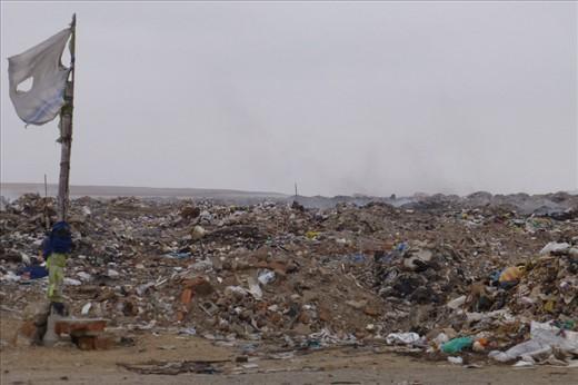 the desert trash dump