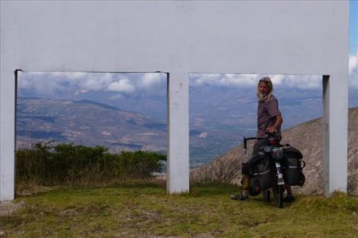 mountains on our way to Cajabamba