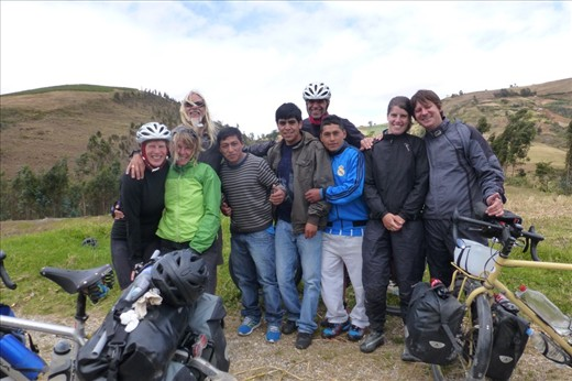 locals stopped us again to take pictures - on our way to Huamachuco