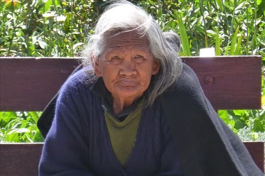 Peruvian Woman in Huamachuco