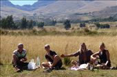 lunch with Waldemar, Indre, James and I after turning onto the dirty road.: by margitpirsch, Views[1165]