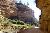 Easy road along the river for a change - heading to Huanuco: by margitpirsch, Views[1068]