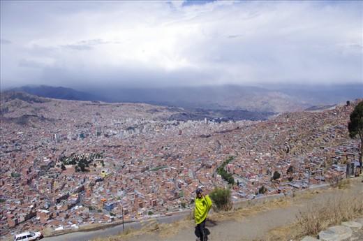 La Paz and I.