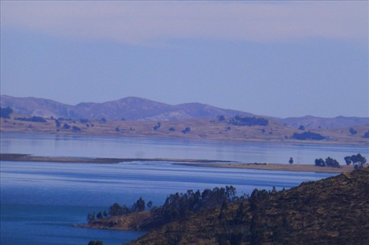 the famous lake Titicaca.