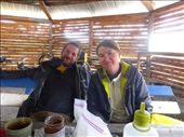 shelter at the airport near Tortel. Fred and Ophelie: by margitpirsch, Views[203]