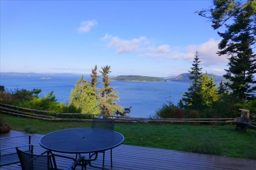 View from James' landlords property on Anacortes.