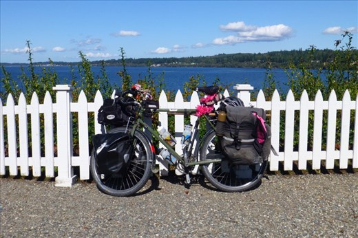 Port Gamble - on our way to the Olympic Peninsula