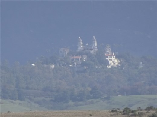 Hearst Castle - this is as close as I can get.