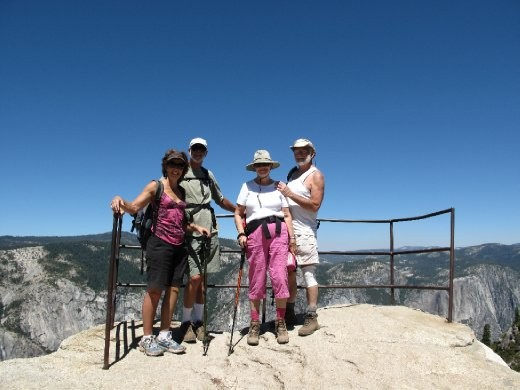 Us on top of Taft point