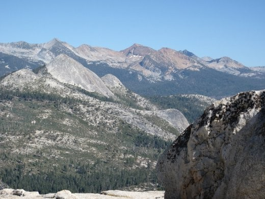 View from Sentinel Dome 8,122ft