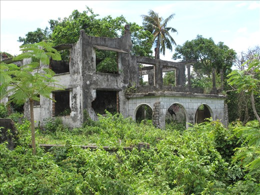 Kep ruins dating back to late 60's - 70's