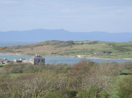 Bays and farmland, and hills and the sea... all drifting in and out of each other