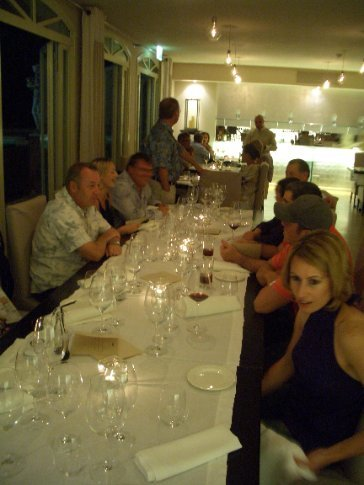 Sat night dinner at Carducci 76 with staff and some guests. Delicious!