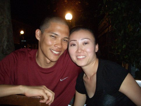 Honeymooners Steve and Annie from Las Vegas / California. Loveliest ppl ever.