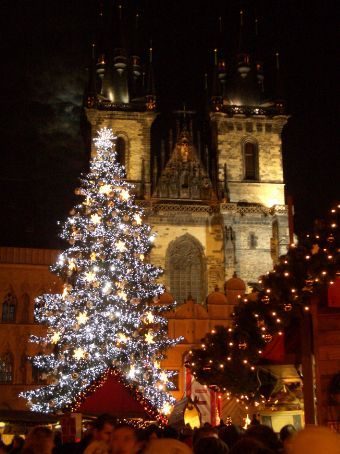 Christmas in Prague. Could it get any more beautiful...