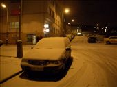 Welcome home (to our place in Prague - no, we don't live in this car!). Finally we received our white Christmas, even if it came 3 days late, and melted 6 hours later!: by maria_brett, Views[583]