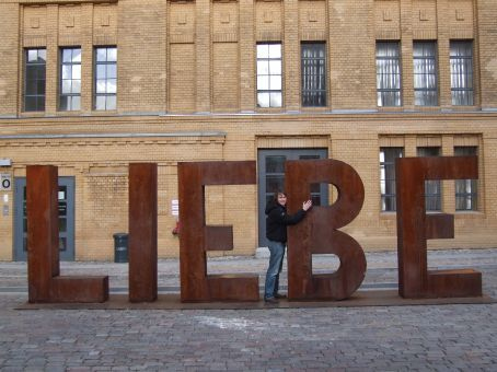 B for Brett.  Putting the love back into Liebe.
