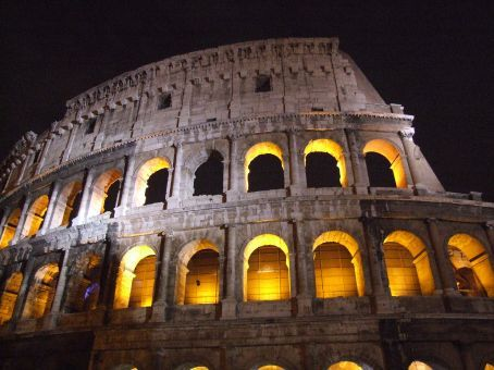 Another icon - the Colosseum.