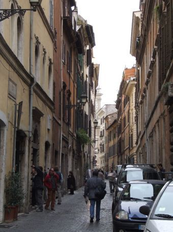One of the many gorgeous alleyways leading you through the old town.
