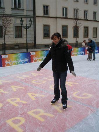 Dancing in a winter wonderland...