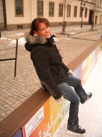 If you don't have an icy wet bum after a spot of ice skating then you haven't tried hard enough!