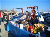 Chorizo sellers outside the circuit. Mmmmm, agricultural.: by maria_brett, Views[224]