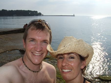The light rain on our faces was more than welcoming after exploring Rovinj in the swelting afternoon heat.