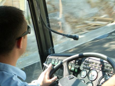 It's not uncommon to see bus drivers take hairpin corners around barrier-less bends at breakneck speed, all while chatting on a mobile phone and having a cigarette at the same time.