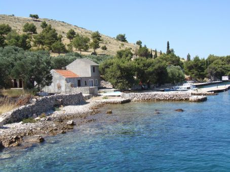 The Kornati islands. Expect clear waters and stone houses, not a tropical paradise but very Adriatic!