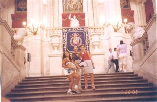 Olé in Madrid's Royal castle!
