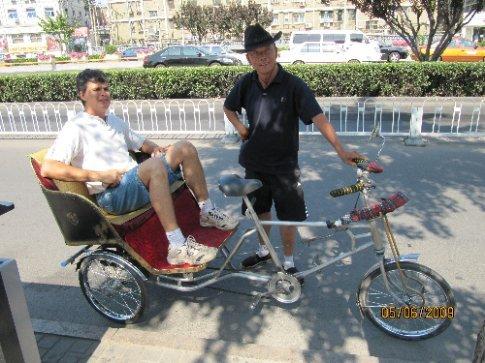 fietstaxi in Beijing