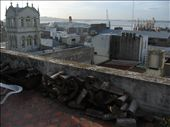 Uitzicht balkon over de haven, met de Queen Elizabeth II als decor.: by markbrul, Views[344]