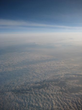 Sunrise over Japan