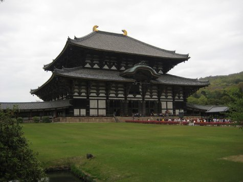 Todaiji Temple, Nara (the largest wooden building in the world - wow!)