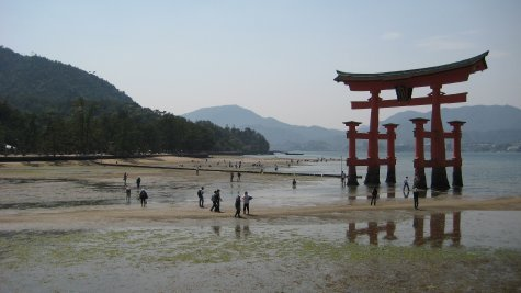 Torii (gate) of Itsukushima Shrine, Miyajima