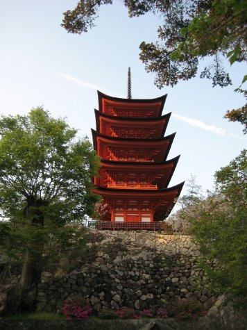 Five-storied pagoda, Miyajima