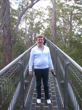 Mum on the 'Tree Top Walk', Valley of the Giants, WA: by markr_mcmahon, Views[292]