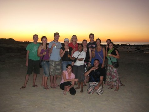 End of the road for the Easy Riders in Broome